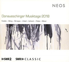 Ivan Fedele-Donaueschinger Musiktage 2018 (UK IMPORT) CD NEW