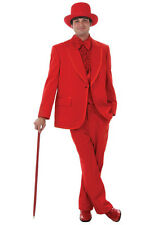 New Red Christmas Tuxedo Vintage 70's Style Tux Complete Package All Sizes
