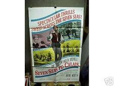 SEVEN SEAS TO CALAIS, nr mint orig 1-sht (Rod Taylor)
