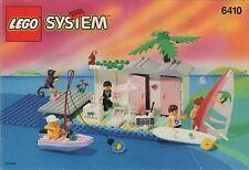 LEGO 6410 Town / Paradisa - Cabana Beach - 1994 - NO BOX