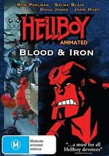 Hellboy Animated Movie - Blood And Iron (DVD, 2007)Brand New Region 4