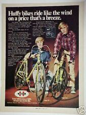 1972 Huffy Boy Dragster Bike 10 Speed~T/S Transportation Memorabilia Bicycles AD