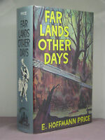 1st,signed by 2(author,artist), Far Lands Other Days by E Hoffmann Price,leather