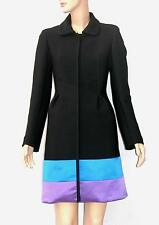 NEW ROBERTO CAVALLI WOOL SILK COAT ITALIAN SIZE 40 US 4