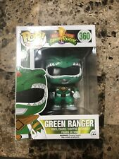 Green Power Ranger 360 Funko POP. Comes With Pop Protector.