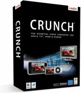 Roxio Crunch Software Win/Mac -New Retail Box Sealed-
