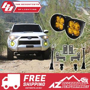BAJA DESIGNS Amber Fog Light Kit For Toyota,Tacoma/4Runner/Tundra Squadron-R