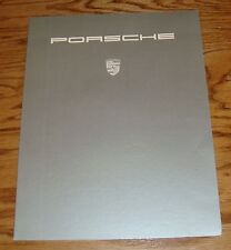 Original 1989 Porsche 928S Sales Folder Brochure 89