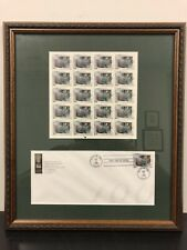Framed Frederick Law Olmsted 33c (20) Stamps 1999 First Day Issue MNH 3338 ASLA