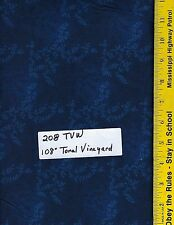 """208 TVW, 108"""" EXTRA WIDE QUILT BACKING, TONAL VINEYARD, 47603, 100% COTTON, BTY"""