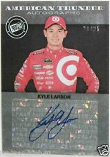 KYLE LARSON / PRESS PASS / AMERICAN THUNDER / AUTOGRAPH / SIGNED CARD 20 / 25