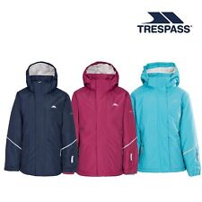 Trespass Marilou Kids Waterproof School Jacket Casual Girls Raincoat