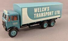 EFE De Luxe | WELCH'S TRANSPORT 6W  Diecast Model Truck - 00 Gauge 1:76 Scale