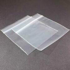 "200 QUALITY RESEALABLE CLEAR GRIPSEAL ZIPLOCK  BAGS 4 X 4"" 102 X 102mm"