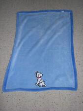 DISNEY 101 DALMATIANS DALMATIONS DOG BABY BOY PLUSH FLEECE BLANKET BLUE