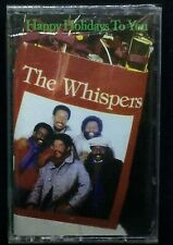 THE WHISPERS Happy Holidays To You (Cassette Solar 72581-4) NEW SEALED
