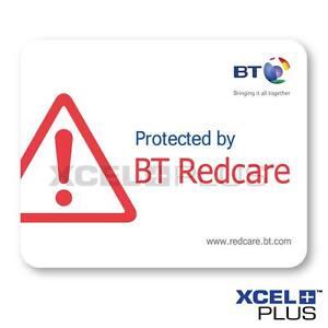 BT Redcare Alarm Window Stickers