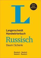 Langenscheidt Handwörterbuch Russisch Daum/Schenk - Buch mit Online-Anbindung von Edmund Daum und Werner Schenk (2015, Gebundene Ausgabe)