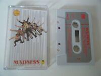 MADNESS 7 CASSETTE TAPE 1981 PAPER LABEL STIFF UK ZSEEZ 39