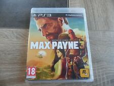 Jeux sony PS3 : MAX PAYNE 3 - complet