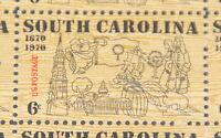 1970 sheet, South Carolina Sc # 1407