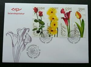Iceland Flowers 2005 Flora Plant (stamp FDC)