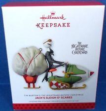 2013 Jack's Sleigh O Scares Disney Hallmark Ornament