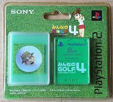 Hot Shots Golf 4 PS2 Tarjeta de memoria de 8MB (2004) totalmente nuevo y sellado de fábrica de Sony