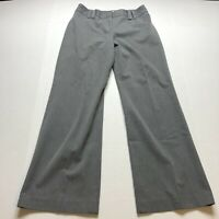 Loft Ana Gray Trouser Dress Pants Size 4P A1811