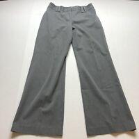Loft Ana Gray Trouser Dress Pants Size 4P A1811