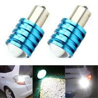 2x 1156 BA15S P21W 12V LED Car Auto Reverse Blinker Licht Rücklicht Lampe weiß