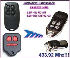 Seip 433 RC-AM, Seip Mini 433 RC-AM Kompatibel Handsender, Ersatz 433,92Mhz
