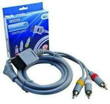Audio Video AV Composite 3 RCA Cable for Nintendo Wii & Wii U Retail Pack