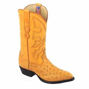 LOS ALTOS BUTTERCUP LEATHER OSTRICH NEW J BOOTS STYLE # 1 99 03 02.