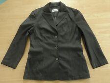 hochwertige JOBIS Stretch Blazer Jacke Gr. 38 dunkelgrau antrazith