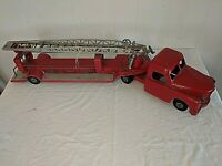 Original 1950s Pressed Steel STRUCTO Ladder Fire Truck - SFD