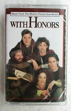 With Honors Movie Soundtrack OST Madonna Rare Cassette Tape Brand New Sealed