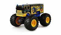 RC Monstertruck Feuerwehr Truck 1:18 RTR Komplettset blau