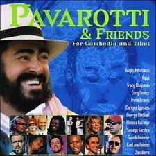 Pavarotti & Friends for Cambodia and Tibet [Bonus Track] (CD, 2000, Decca)