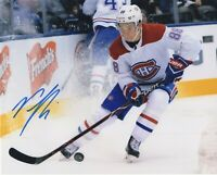 NICK SUZUKI SIGNED AUTOGRAPH MONTREAL CANADIENS 8X10 PHOTO  PROOF