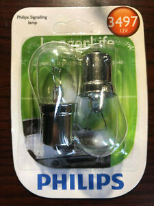 Center High Mount Stop Light Bulb-Coupe Philips 3497LLB2