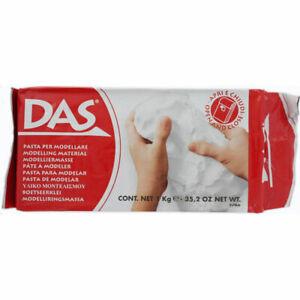 DAS 1kg White Modelling Clay, Toys & Games, Brand New