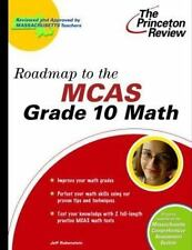 Roadmap to the MCAS Grade 10 Math (State Test Prep Guides), Princeton Review, Ac