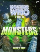 BOOK - Doctor Who Book of Monsters by David J Howe