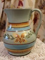 """Hartrox 6.5"""" Hand Painted Stoneware Jug. Signed"""
