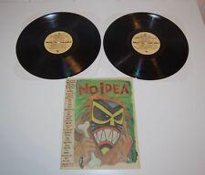 BREAD: THE EDIBLE NAPKIN 2 LP Vinyl Records No Idea Fanzine 12 Braid Locust 1997