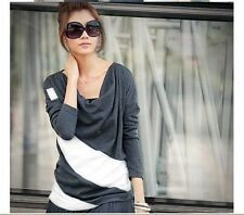 Cotton Blend Classic Collar Casual Blouses for Women