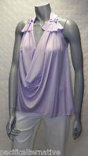Haut violet Lilas Taille 38 / 40 pour FEMME top soirée été NEUF #TAHITI E7