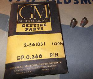 52 54 56 58 59 Oldsmobile 88 98 Engine Valve Rocker Shaft Anchor Pins NOS 561831