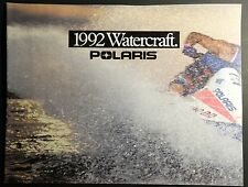 1992 Polaris Personal Watercraft Sales Brochure 8 Pages (462)